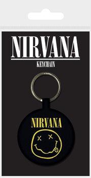 Nirvana - Smiley Nøglering
