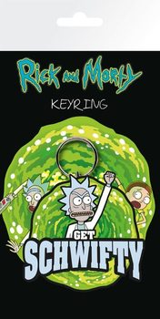 Rick And Morty - Get Schwifty Nøglering
