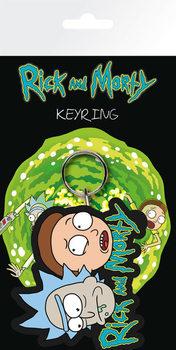 Rick & Morty Nøglering