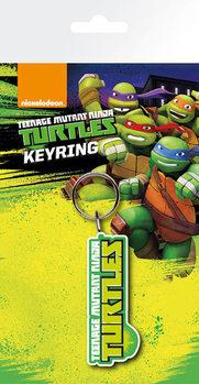 Skøre teenage ninja skildpadder - Logo Nøglering