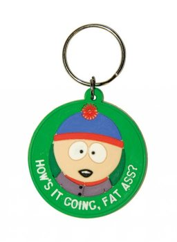 SOUTH PARK - Stan / fat ass Nøglering