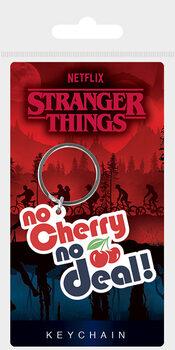 Nøglering Stranger Things - No Cherry No Deal