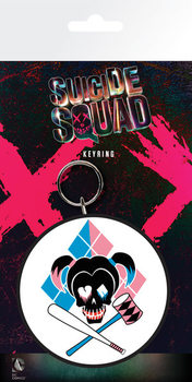 Suicide Squad - Harley Skull Nøglering