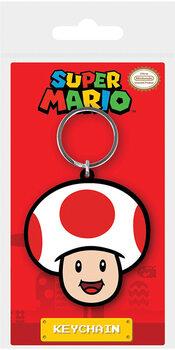 Nøglering Super Mario - Toad