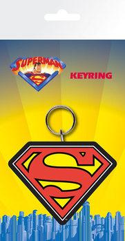 Superman - Logo Nøglering