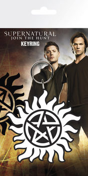 Supernatural - Anti Possession Symbol Nøglering
