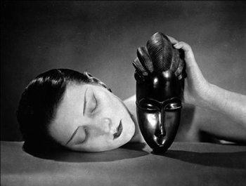 Noire et Blanche - Black and white, 1926 Festmény reprodukció