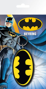 Batman Comic - Logo Nøkkelring