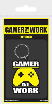 Gamer At Work - Joypad Nøkkelring