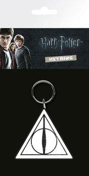 Harry Potter Deathly Hallows Nøkkelring