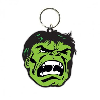 Hulk - Face Nøkkelring