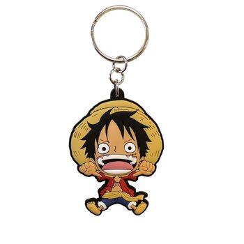 One Piece - Luffy Nøkkelring