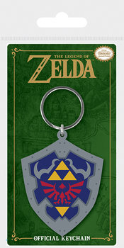 The Legend Of Zelda - Hylian Shield Nøkkelring
