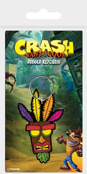 Nøkkelring Crash Bandicoot - Aku Aku