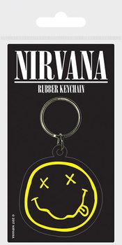 Nøkkelring Nirvana - Smiley