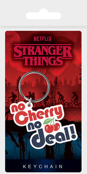 Nøkkelring Stranger Things - No Cherry No Deal