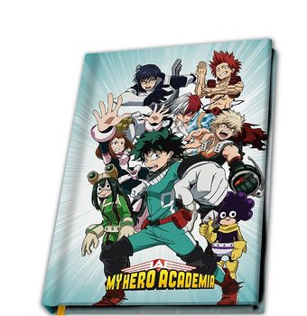 Notatbok My Hero Academia - Heroes