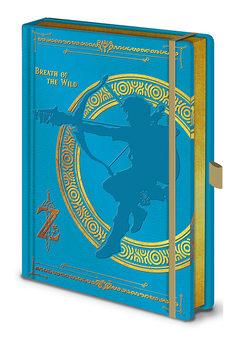Notatbok The Legend Of Zelda - Breath Of The Wild