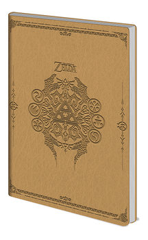 Notatbok The Legend Of Zelda - Sage Symbols