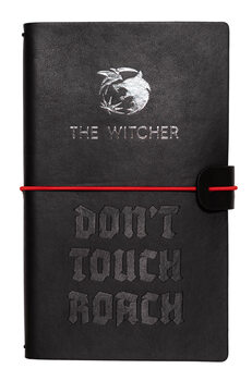 Notatbok The Witcher - Don't Touch Roach