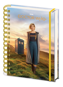 Doctor Who - 13th Doctor Notatbok