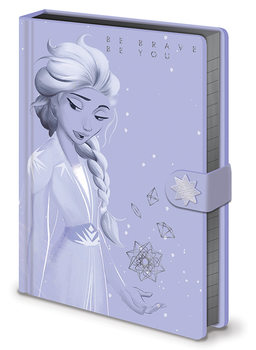 Frozen 2 - Lilac Snow Notatbok