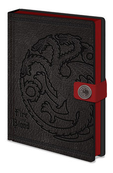 Game Of Thrones - Targaryen Notatbok