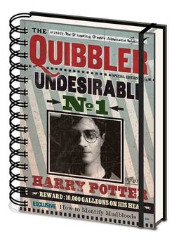 Harry Potter - Quibbler Notatbok