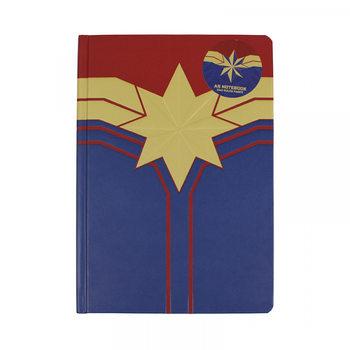 Marvel - Captain Marvel Notatbok