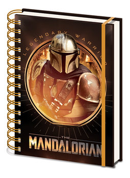 Star Wars: The Mandalorian - Bounty Hunter Notatbok