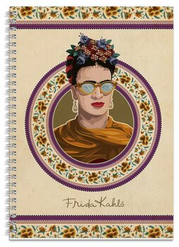 Notatnik Frida Kahlo A4