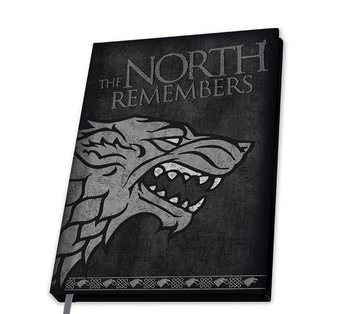 Notatnik Gra o tron - Stark