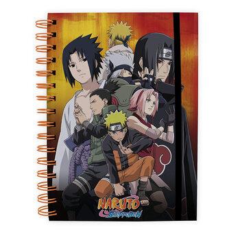 Notatnik Naruto Shippuden - Kohona group