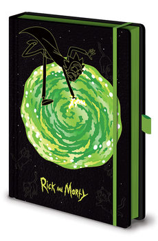 Notatnik Rick and Morty - Portals