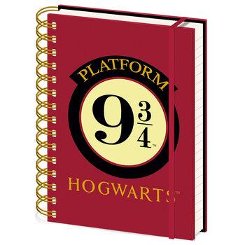 Σημειωματάριο Harry Potter - Platform 9 3/4