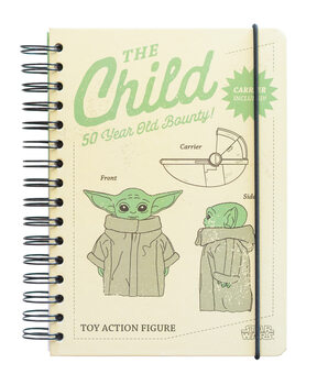 Σημειωματάριο Star Wars: The Mandalorian - The Child