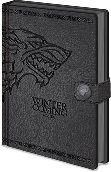 Notesbøger Game of Thrones - Stark Clasp Premium