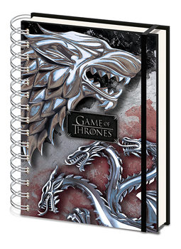 Notesbøger Game Of Thrones - Stark & Targaryen
