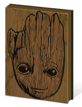 Notesbøger Guardians of the Galaxy Vol.2 - Groot