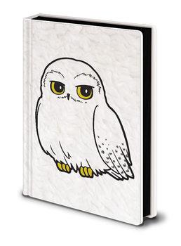 Notesbøger Harry Potter - Hedwig Fluffy