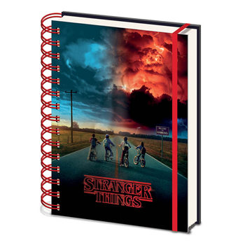 Notesbøger Stranger Things - Mind Flayer 3D Cover