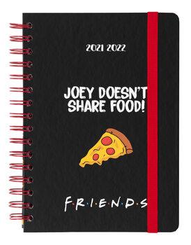 Notesbog Dagbog Friends