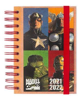 Notesbog Dagbog Marvel - Comics