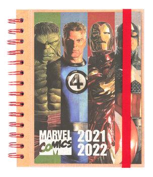 Notesbog Dagbog Marvel