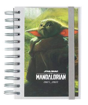 Notesbog Dagbog Star Wars: The Mandalorian