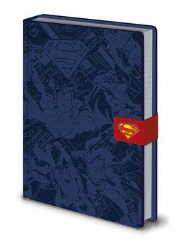 Notesbog DC Originals - Superman Montage Premium