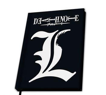 Notesbog Death Note - L