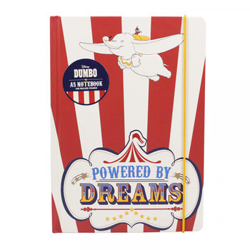Dumbo - Powered By Dreams A5 Notesbøger