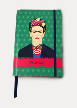Frida Kahlo - Green Vogue Notesbøger