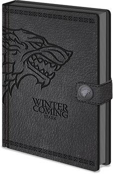 Notesbog Game of Thrones - Stark Clasp Premium